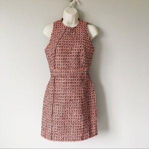 Victoria Beckham Neon Tweed Dress