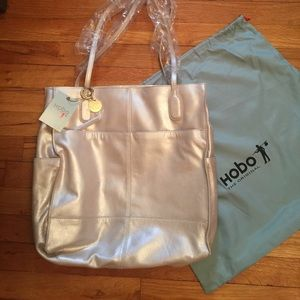 Leather Tote Bag by Hobo