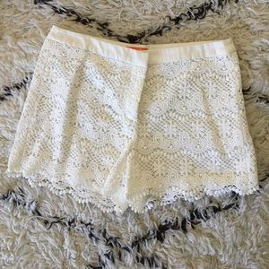 Joe fresh white shorts