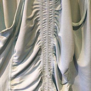 lululemon athletica Tops - Lululemon light blue tank with grey stripes size 8
