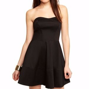NEW Express Lace Casual Party Dress: Sz 2, Black