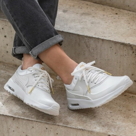 separation shoes bfd62 e3ce7 NWT Nike Air Max Thea premium Whitegold rare