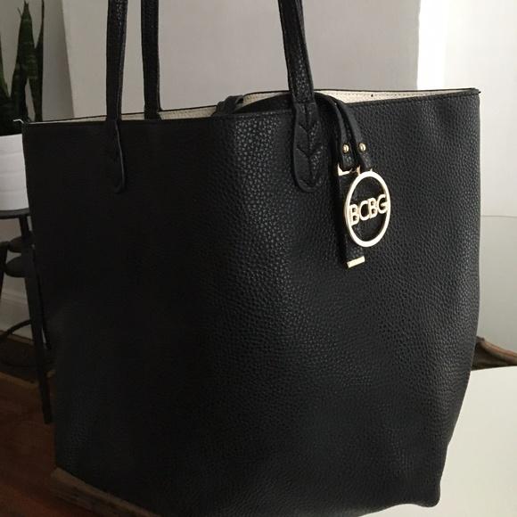 ac9613a60277 BCBG PARIS Handbag/Tote Convertible reversible Bag