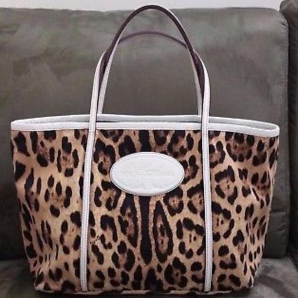 Dolce   Gabbana Handbags - Dolce   Gabbana Leopard Print Animalier Tote 2e8594e00c