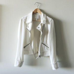 """moto"" inspired jacket"