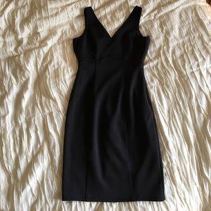 Calvin Klein black scuba dress