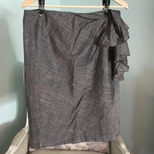 Sunny Leigh Faux Wrap Skirt 10