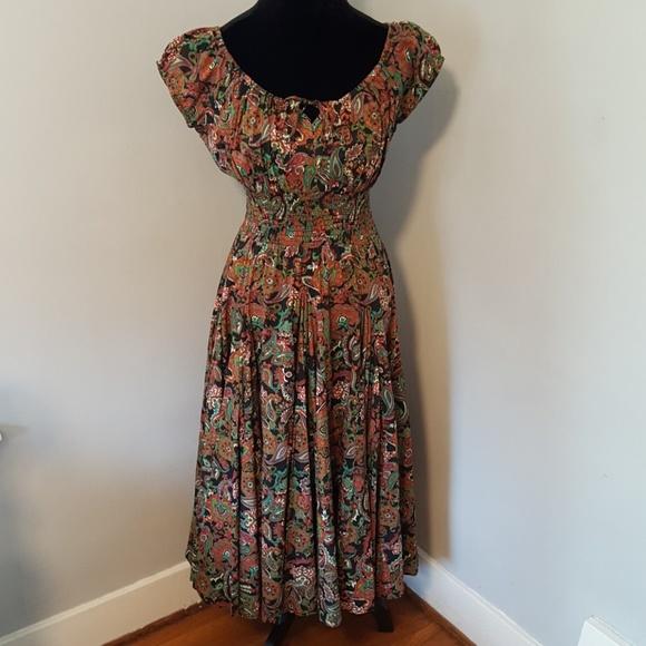 0f7a6c62b19 NWT Chelsea   Theodore Peasant Dress