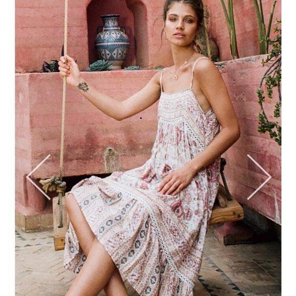 d2d45f03b Spell & the Gypsy Collective Zahara midi dress. M_59f61e752599fe6c0d06445b
