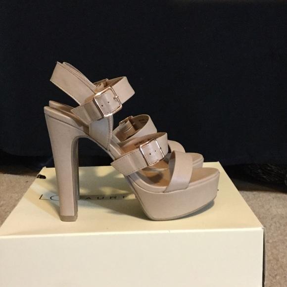dead06bcf8c6d LC Lauren Conrad Shoes - LC Lauren Conrad strap dress sandals