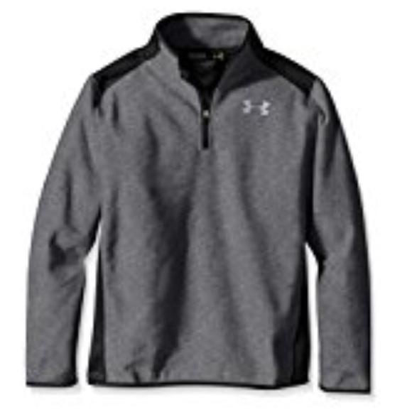 cbe9514f10 Under Armour Boys' Infrared Fleece 1/4 Zip Vest NWT
