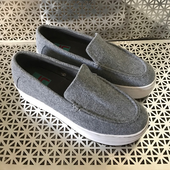 Slip on Sneakers for Women On Sale, Grey, Canvas, 2017, 7.5 Jeffrey Campbell