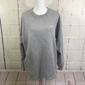 Vintage 90's Champion grey oversize sweatshirt