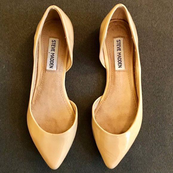 a56d3706366 Steve Madden Elusion patent leather flats