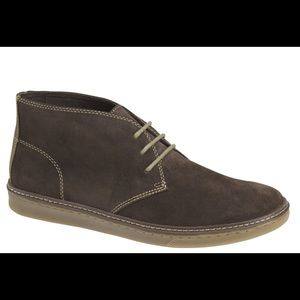 Johnston & Murphy McGuffey chocolate suede Chukka