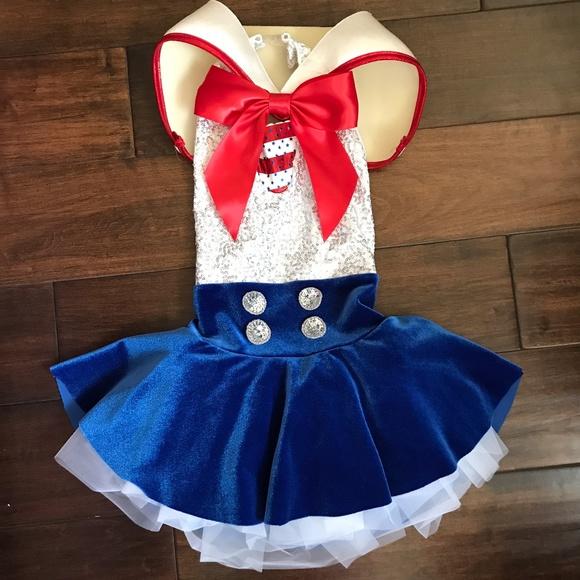 bac1b8bd6 Cicci Costumes | Beautiful Sailor Girl Dance Costume By | Poshmark