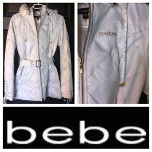 bebe White Jacket