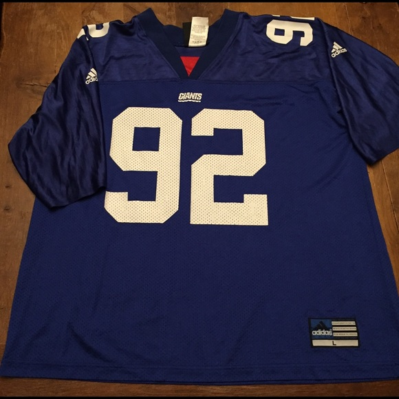 cheap for discount 27162 5592e New York Giants NFL Michael Strahan adidas jersey