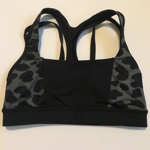 Lululemon Animal Print Sports Bra Size 4