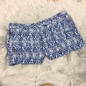 Cynthia Rowley Demask Print Shorts