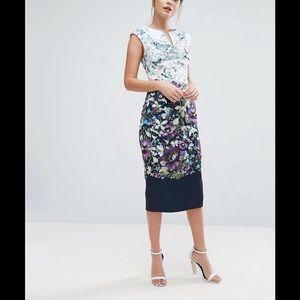 c5ec86c6c98cfe Ted Baker Dresses - TIHA Entangled Enchantment bodycon dress