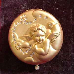 Vintage Estee Lauder April Angel powder Compact