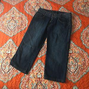 Eddie Bauer Curvy Crop Jeans - Size 8
