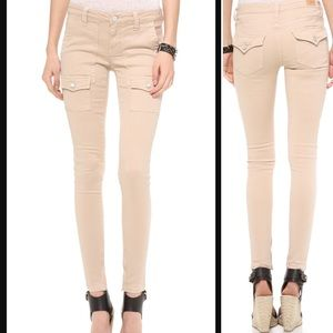 Joie So Real Crop Cargo skinny jeans