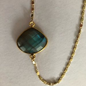 Genuine Labradorite Necklace