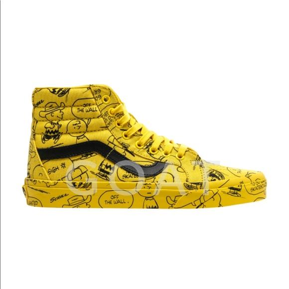 vans charlie brown chaussures