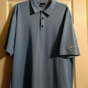Nike Fit Dry waffle material golf shirt