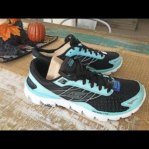 Men's glow in the dark running shoes