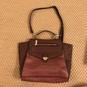 Danielle Nicole Maroon Handbag