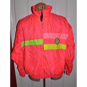 Vintage OCEAN PACIFIC Full Zip Windbreaker Jacket