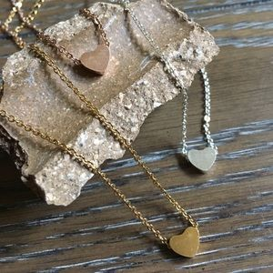 Jewelry - Dainty Heart Necklace Perfect Valentine's Day Gift