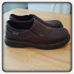 ❤ Woman's Brown Eastland Loafers Size 10M ❤