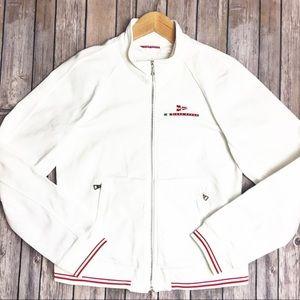 Prada Luna Rossa Denim Racing Jacket