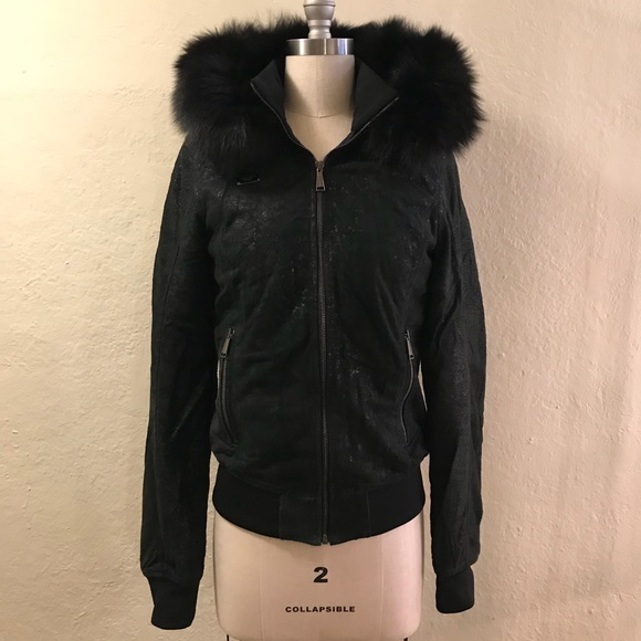 4363915c358 Philipp Plein Jackets & Coats | Winter Jacket With Fur Lined Hood S ...