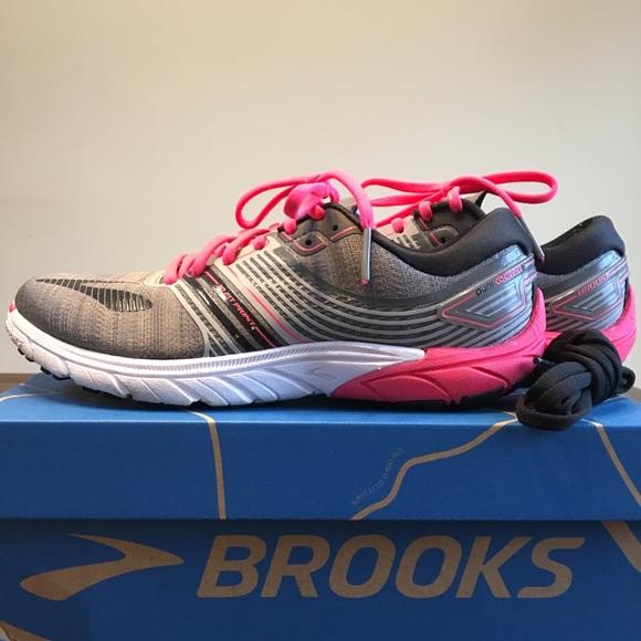 innovative design 9669e 6cb82 Brooks Purecadence 6 Black/Pink