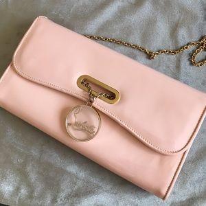 Christian Louboutin Bags - Cristian Louboutin baby pink clutch bag