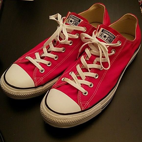Men's Red Converse size 13 (Chuck Taylors)