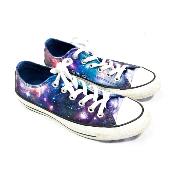 b6770bd3bdca4d Converse Shoes - Converse All Star Satin Galaxy Universe Low Tops