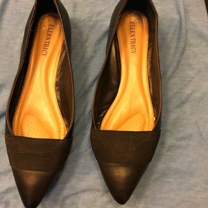 Ellen Tracy comfy black flats