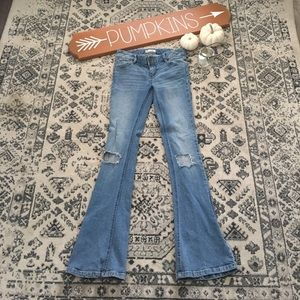 Free People 5 Pocket Flare Jeans - 26