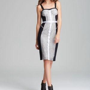 Lace and silk dress Rebecca Minkoff Long Clarissa