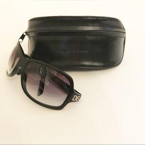Authentic Dolce & Gabbana Rhinestone Sunglasses