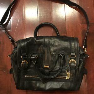 Badgley Mischka tophandle crossbody handbag purse