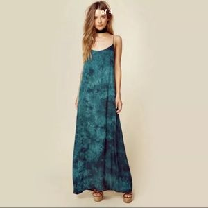 Planet Blue Life Revolve Kate Maxi Dress Emerald