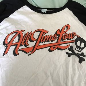 ALL TIME LOW BASEBALL TEE