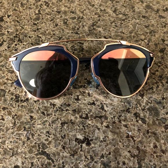 766ee4606f21 Dior Accessories | So Real Navyrose Gold Sunglasses | Poshmark